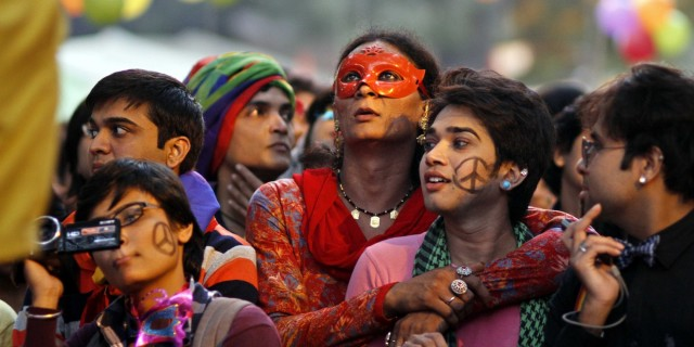 Gay Pride Parade In New Delhi